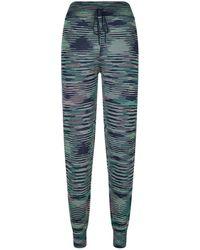 M Missoni | Striped Sweatpants | Lyst
