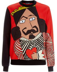 Dolce & Gabbana - King Of Love Sweatshirt - Lyst