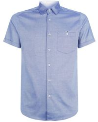 Ted Baker - Wallo Oxford Shirt - Lyst