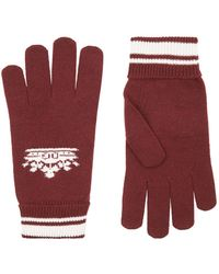 Dolce & Gabbana - Crown Knit Gloves - Lyst