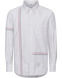 Thom Browne - Striped Shirt - Lyst