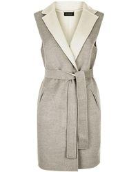 St. John - Reversible Sleeveless Jacket - Lyst