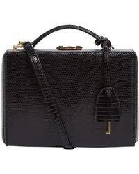 Mark Cross - Small Lizard Grace Box Bag - Lyst