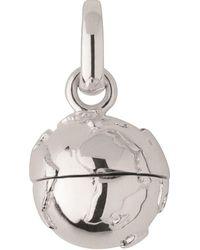 Links of London - Sterling Silver Travelling Memories Globe Locket Charm - Lyst