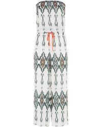 Heidi Klein - Polynesia Smocked Jumpsuit - Lyst