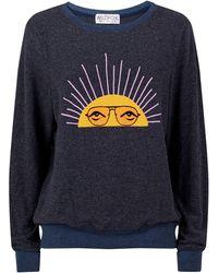 Wildfox - Slogan Sweatshirt - Lyst