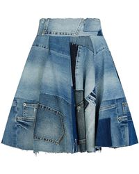 Dolce & Gabbana - Denim Skirt - Lyst