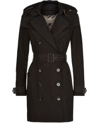 Burberry - Balmoral Hooded Mid-length Trench Coat - Lyst