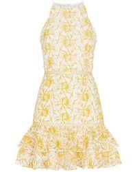 Keepsake - Wild Things Lace Mini Dress - Lyst