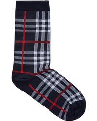 Burberry - Vintage Check Socks - Lyst