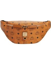 MCM - Small Visetos Fursten Belt Bag - Lyst