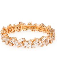 Suzanne Kalan - Yellow Gold Fireworks Bliss Eternity Band - Lyst