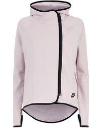 Nike | Zipped Fleece Cape | Lyst