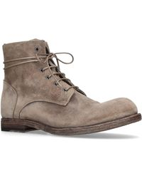 af0acbb108fd4 Lyst - Officine Creative Victoria Suede Boots in Brown for Men