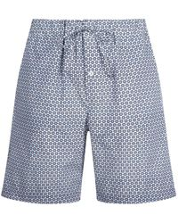 Hanro - Printed Lounge Shorts - Lyst