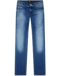 7 For All Mankind - Ronnie Slim Fit Jeans - Lyst