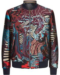 Paul Smith - Futuristic Dreamer Bomber Jacket - Lyst