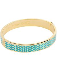 Halcyon Days - Turqouise Salamander Bangle - Lyst