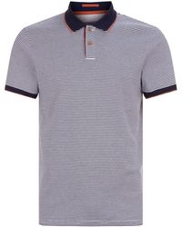 Ted Baker - Gingen Striped Cotton Polo - Lyst