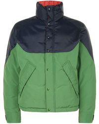 Burberry - Colour Block Reversible Down Jacket - Lyst