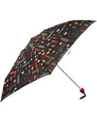 Harrods - Glitter London Umbrella, White - Lyst
