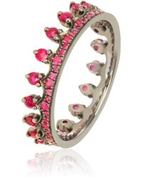 Annoushka - Ruby Crown Ring - Lyst