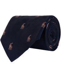 Ralph Lauren - Polo Pony Tie - Lyst