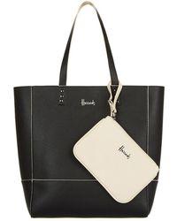 Harrods | Fern Reversible Tote Bag, Black | Lyst