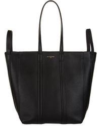 Balenciaga - Leather Laundry Tote Bag - Lyst