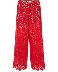 Alice + Olivia - Olsen Zipped Ankle Trousers - Lyst