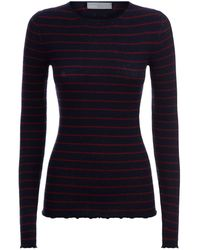 Vince - Striped Jumper - Lyst