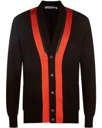Givenchy | Zipped Knit Cardigan | Lyst