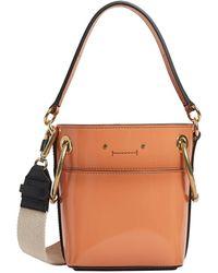 Chloé - Small Leather Roy Bucket Bag - Lyst
