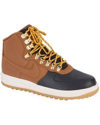 d9c3e2539487 Lyst - Nike Lunar Force 1 Duckboot Medium Olive Boot 805899201 for Men