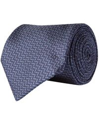Corneliani - Interlocking Silk Tie - Lyst