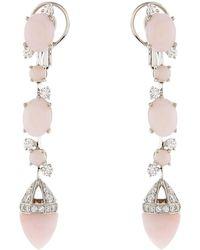 Château Euphorie - Clara Opal Drop Earrings - Lyst