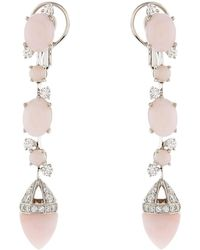Château Euphorie - Clara Opal Drop Earrings - Lyst