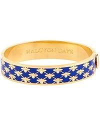Halcyon Days - Bee Trellis Bangle - Lyst