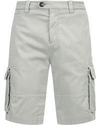 Brunello Cucinelli - Cargo Shorts - Lyst