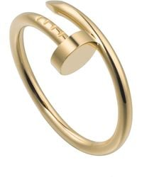 Cartier - Yellow Gold Juste Un Clou Ring - Lyst