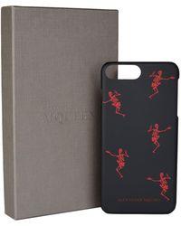 Alexander McQueen - Dancing Skeleton Iphone 8 Plus Cover - Lyst