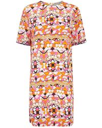 Emilio Pucci - Arenal Patterned Jersey Dress - Lyst