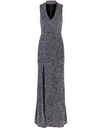 Alice + Olivia - Arial Embellished Gown - Lyst