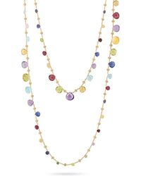 Marco Bicego - Paradise Gemstone Double Strand Necklace - Lyst