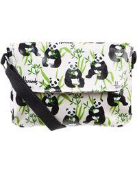 Harrods - Panda Logo Cross Body Bag - Lyst