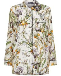 Alexander McQueen - Wild Iris Print Pyjama Top - Lyst