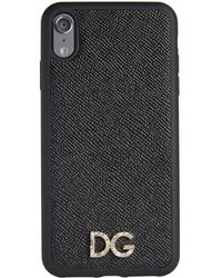 Dolce & Gabbana - Leather Iphone Xs Max Case - Lyst