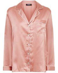 Harrods - Silk Pyjama Top - Lyst