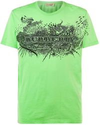 Burberry - Darnley Doodle T-shirt - Lyst
