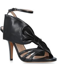 Valentino - Side Bow Sandals 110 - Lyst